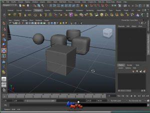 לימודי אנימציה מאיה 3D