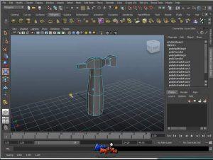 קורס מאיה תוכנת אנימציה